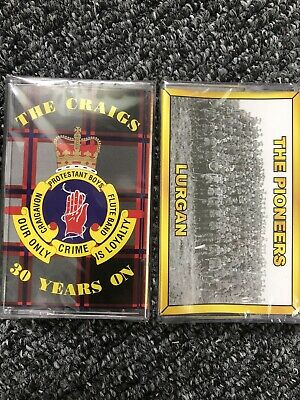2 Vintage Ulster Loyalist Flute Band Cassettes New And Sealed • 5£