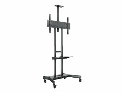 King Large Wheeled Trolley Stand With AV Shelf And Camera Holder - TVs 55  - 80  • 212.99£