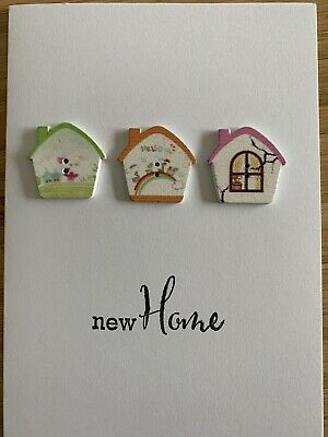 Handmade Happy New Home Card • 1.85£