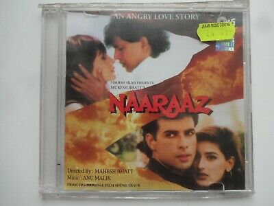 NAARAAZ ~ Bollywood Soundtrack Hindi CD ~ Anu Malik ~ 1994 • 4.95£