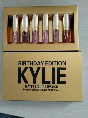 AU28 • Buy Kylie Jenner Birthday Edition 6 Piece Lipstick Set With Retail Package