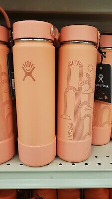 $75 • Buy Hydro Flask Limited Edition Hawaii Coral 24 Oz Wide Mouth Bottle - NWT