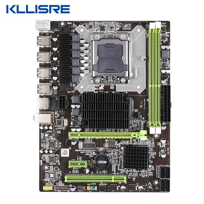 $ CDN135.40 • Buy Kllisre X58 LGA 1366 Motherboard Support REG ECC Server Memory And Xeon Processo