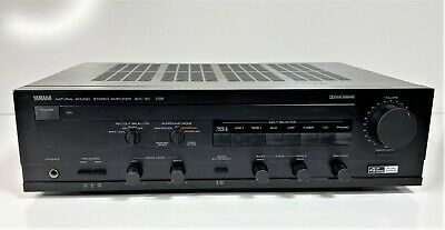 AU299.99 • Buy Vintage Yamaha Avc-30 Natural Sound Stereo Amplifier Amp Made In Japan