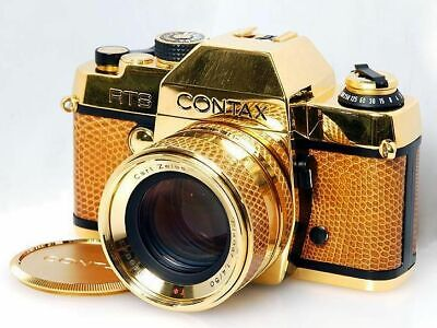 $ CDN2898.29 • Buy Contax RTS Gold With Planar 50/1.4 Lens 50th Anniversary Excellent Japan F/S