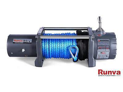 AU749 • Buy Runva EWX9500 12V 4x4 Electric Recovery Winch With Synthetic Rope 9500lb NEW