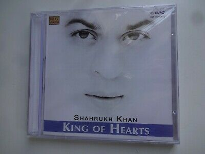 SHAHRUKH KHAN ~ KING OF HEARTS ~ Bollywood Soundtrack Hindi CD ~ 2003 ~ New • 9.95£