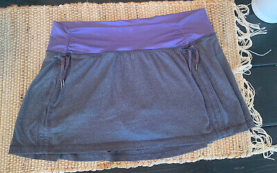 $ CDN52.28 • Buy Lululemon Skirt Size 10 Gray/Purple Soft