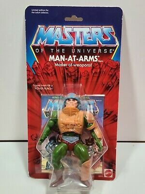 $45 • Buy Commemorative 2000 Masters Of The Universe/He-Man Man-At-Arms 8 Back MOTU MOC