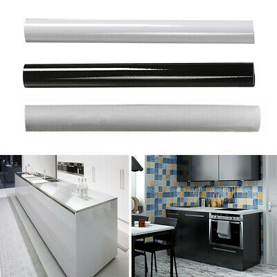 5m Kitchen Wall Paper Tile Sticker Furniture Tile Renovation Self-Adhesive UK • 12.95£