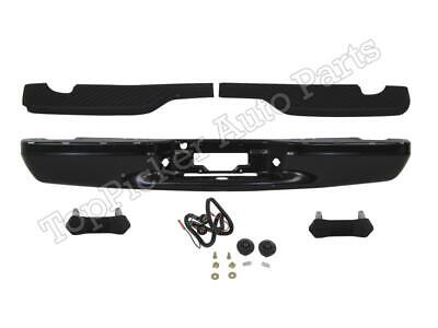 $318.65 • Buy Rear Bumper Black Face Bar Step Pad Bracket Lic Light FOR 97-03 F150 Flareside