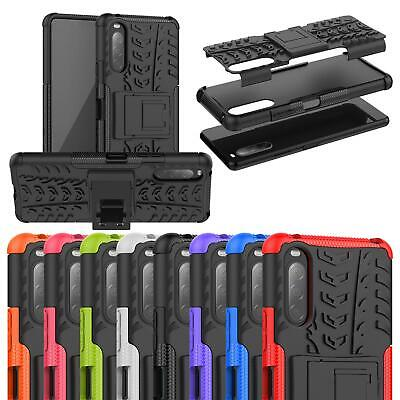 AU8.49 • Buy For Sony Xperia 1 10 II 5G L4 L3 L1 XA2 XZ3 Armour Shockproof Stand Phone Case