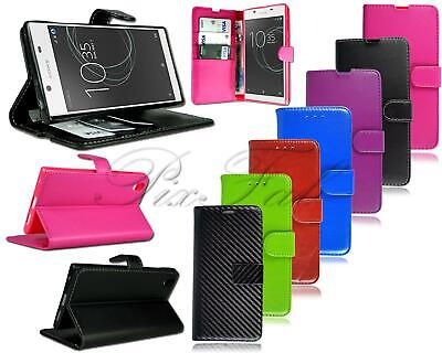 AU8.74 • Buy New Genuine Leather Wallet & Flip Luxury Phone Case For Sony Xperia Mobile Phone