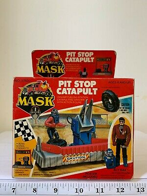 $159.99 • Buy  Kenner M.A.S.K Mask USA Box Pit-Stop Catapult Sly Rax Action Figure
