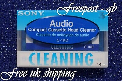 £8.99 • Buy Super Quality Sony C-1kd Audio Cassette Head & Tape Path + Rollers Cleaning Tape