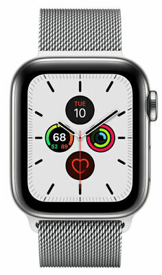 $ CDN763.21 • Buy Apple Watch Series 5 40mm Case With Milanese Loop - Stainless Steel (GPS + CELL
