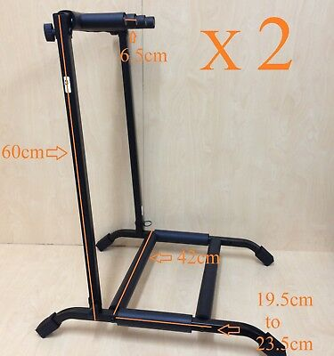 $ CDN73.20 • Buy Two(x2)Haze GS014-3 Metal Structure 3-Guitar-Stand/Storage,Display Rack,Foldable