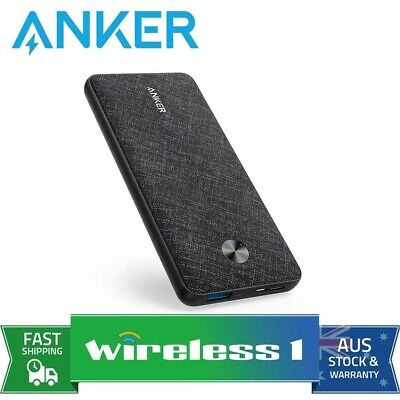 AU67 • Buy Anker PowerCore Slim 10000 Power Bank - Black Fabric