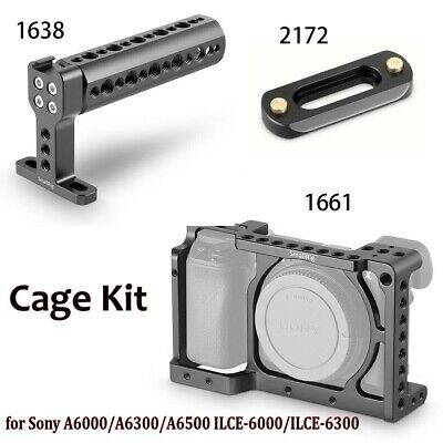 AU27.94 • Buy SmallRig Camera Cage Kit Handle For Sony A6000/A6300/A6500 ILCE-6000/ILCE-6300