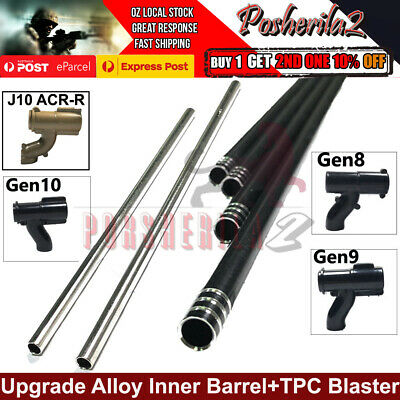 AU9.95 • Buy Upgrade Alloy Inner Barrel Stainless Steel Gel Blaster T-piece TPC J8 9 M4A1 ACR