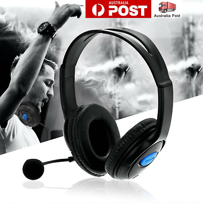 AU9.19 • Buy Gaming Headset Headphone With Microphone Volume Wired For Sony PS4 PlayStation 4