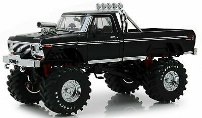 AU269.99 • Buy 1:18 1979 Ford F-250 Monster Truck W/48  Tyres -- Black -- Kings Of The Crunch