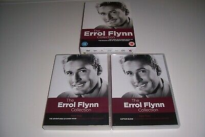 THE ERROL FLYNN Collection ( 5 Dvd Film Boxset Region 2  • 16.92£