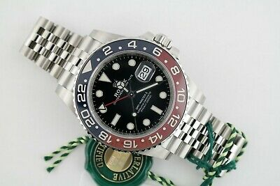$ CDN25395.33 • Buy Rolex GMT-Master II 126710BLRO Blue & Red Ceramic Bezel  Pepsi  Jubilee Band