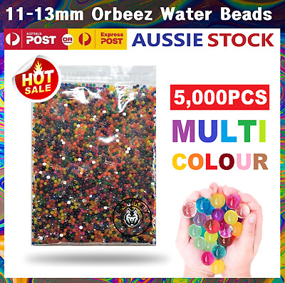 AU7.99 • Buy 11-13mm Orbeez Water Gel Beads Jelly Balls Crystal Soil For Vases Wedding Home