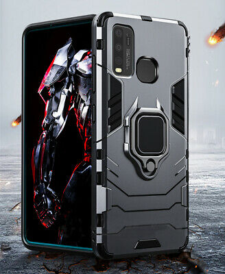 AU14.50 • Buy Tough Armor Case For VIVO Y30/Y50/Y12/Y17 Ring Holder Stand Cover