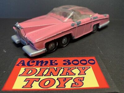 1967-75 Dinky 100 Gerry Anderson Thunderbirds LADY PENELOPE FAB1 - NO Missiles C • 35£
