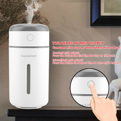 AU20.99 • Buy Portable Car USB LED Air Humidifier Diffuser Essential Oil Aroma Mist Purifier