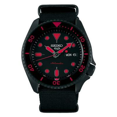 $ CDN361.25 • Buy Seiko 5 Sports Automatic Black Dial Men's Watch SRPD83K1