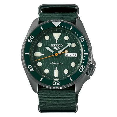 $ CDN361.25 • Buy Seiko 5 Sports Automatic Green Dial Men's Watch SRPD77K1