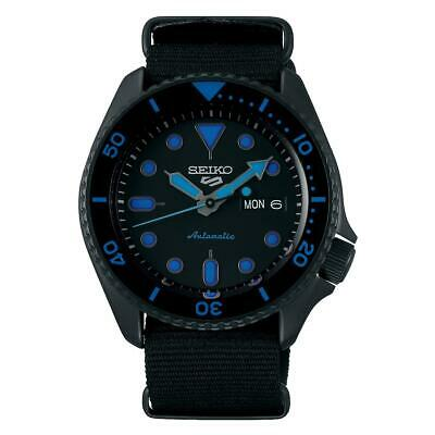 $ CDN361.25 • Buy Seiko 5 Sports Automatic Black Dial Men's Watch SRPD81K1