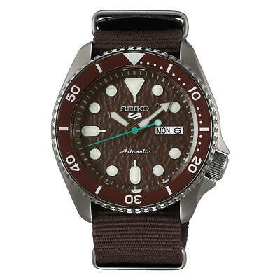 $ CDN361.25 • Buy Seiko 5 Sports Automatic Brown Dial Men's Watch SRPD85K1