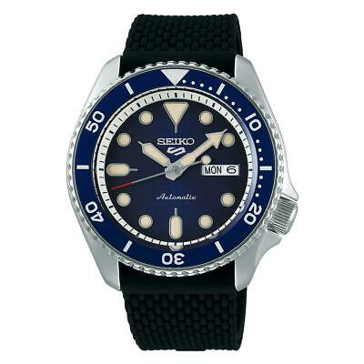 $ CDN318.75 • Buy Seiko 5 Sports Analog Automatic Silicone Strap Men's Watch SRPD71K2