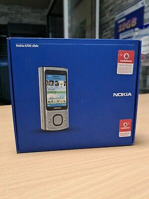 Nokia Slide 6700 - Silver Brand New (Vodafone) Mobile Phone. Collector's Item.  • 104.99£