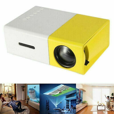 AU49.99 • Buy YG300 1080P HD Home Theater Cinema USB HDMI AV SD Mini Portable HD LED Projector