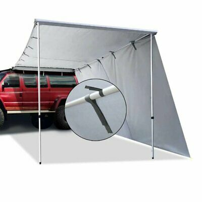 AU119.99 • Buy For Camping Offroad Roof Side Awning & Extension Pull-Out Shade Top Car Tent