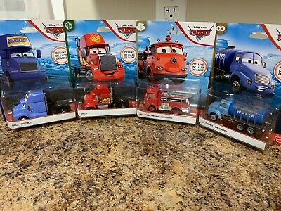 $60 • Buy Disney / Pixar Cars Cars 3  Dale Roofold - MACK - RED FIRE TRUCK - MR DRIPPY NEW