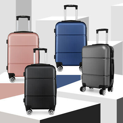 £23.99 • Buy Hard Shell Cabin Size 20''Suitcase Travel Luggage Spinner Bag Lightweight Case