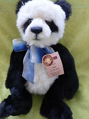 Charlie Bears Panda Ming 2010 Secret Collection Isabelle Lee Retired Limited Ed. • 55£
