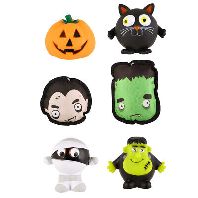 Assorted Halloween Squeaky Rubber Toys For Pets, Dogs & Puppy • 9.99£