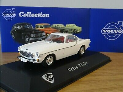 Atlas Editions Volvo P1800 Coupe White The Saint Roger Moore Car Model Ms03 1:43 • 25.09£