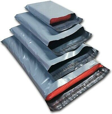 17  X 24  Large Grey Strong Postal Packing Pack Mailing Bags Self Seal Sack Lite • 0.99£