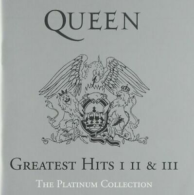 Queen - Platinum Collection: Greatest Hits 1,II & III BOXED 3 CD SET • 14.99£