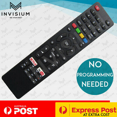 AU26.80 • Buy NEW Remote Control For BAUHN Aldi Smart TV ATV55UHD Series NETFLIX YOUTUBE Key
