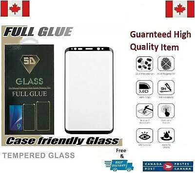 $ CDN8.50 • Buy Case Friendly Samsung Galaxy S7 Edge Full Cover Tempered Glass Screen Protector