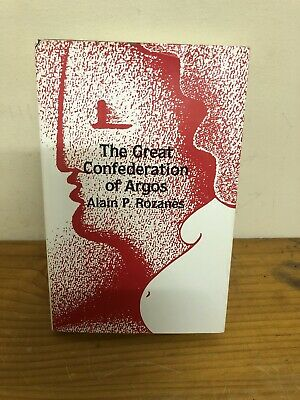 AU24.99 • Buy Vintage Book The Great Confederation Of Argos Alain Rozanes Occult Signed